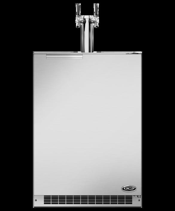 """24"""" Outdoor Beer Dispenser - Dual Tap"""