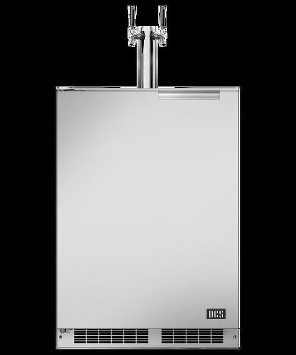 "24"" Outdoor Beer Dispenser - Dual Tap, pdp"