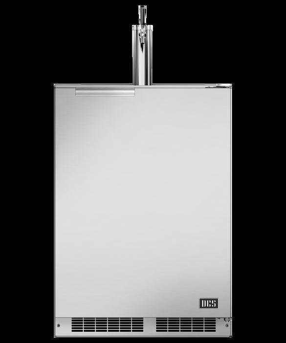 "24"" Outdoor Beer Dispenser - Single Tap, pdp"