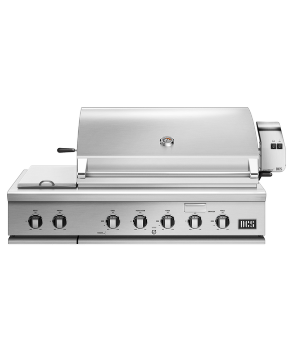 """48"""" Grill with Integrated Side Burners, Natural Gas, pdp"""